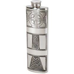 Celtic Cross Purse Flask 3oz