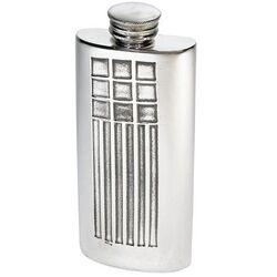Charles Rennie Mackintosh Purse Flask 2oz