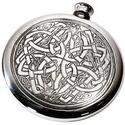 Celtic Design Pewter Sporran Flask