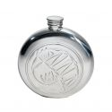 Knox Round Pewter Flask