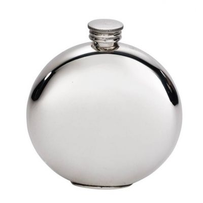 Plain Round Flask 6oz