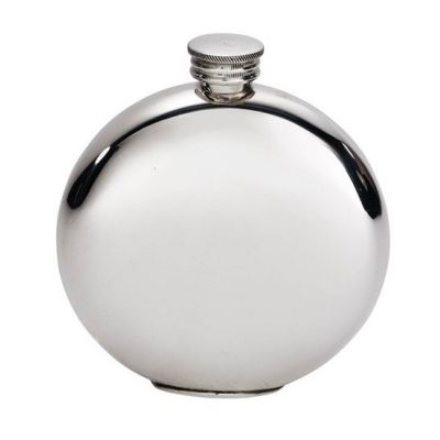 Round Usquabae Single Thistle Flask