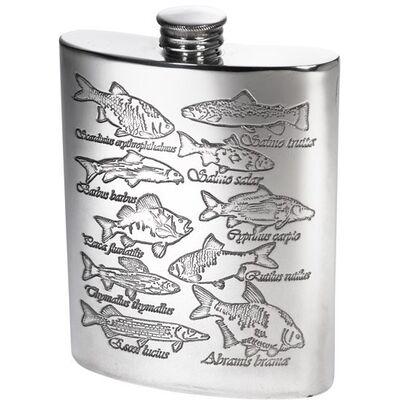 Fish Scene Hip Flask