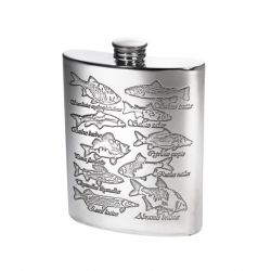 Fish Scene Hip Flask