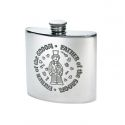 Father of the Groom Pewter Kidney Hip Flask