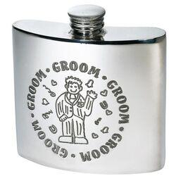 Groom Kidney Hip Flask