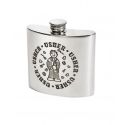 Usher Pewter Kidney Hip Flask