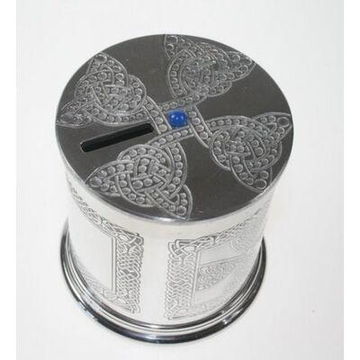 Celtic Cross Money Box