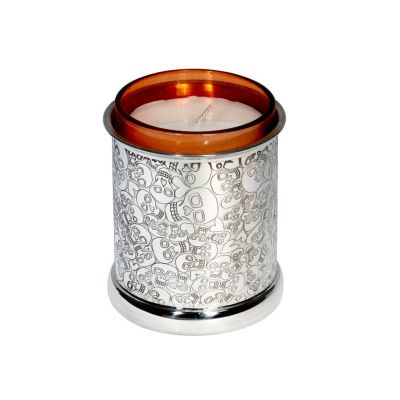 Love Skull Candle Votive