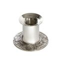 Celtic Band Pewter Candle Stick Holder Small