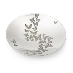 Butterfly Design Pewter Bowl
