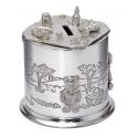 Teddy Bears Picnic Pewter Money Box