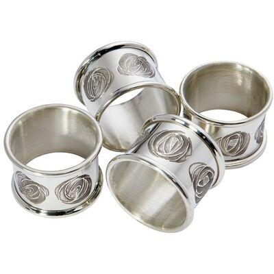 Charles Rennie Mackintosh Napkin Ring Set