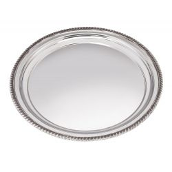 Gadroon Rim Tray Large