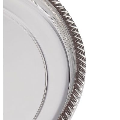 Gadroon Rim Tray Small