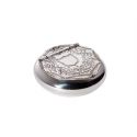 Patterned Pewter Snuff Box