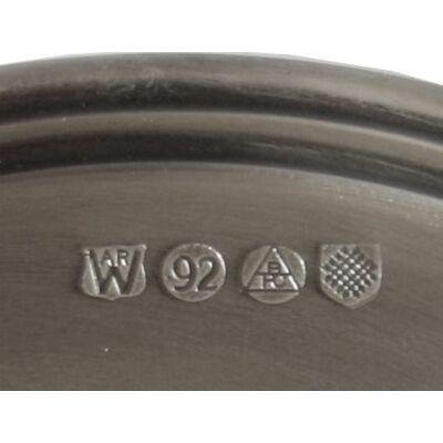 Antique Finish Plate Medium