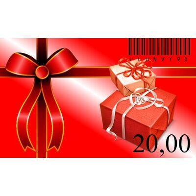 £20 Gift Card - Voucher