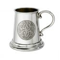 Celtic Circle Quarter Pint Pewter Mug