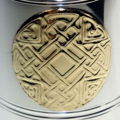Celtic Gold Quater Pint Tankard
