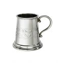 Celtic Quarter Pint Pewter Mug