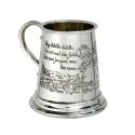 Cow Over the Moon Pewter Mug