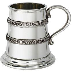 Double Celtic Bands Quarter Mug