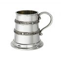 Double Celtic Bands Quarter Pewter Mug