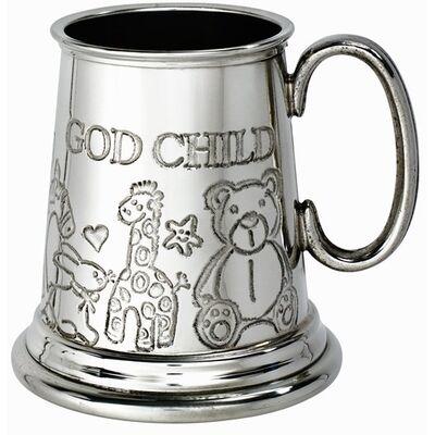 God Child Pewter Mug