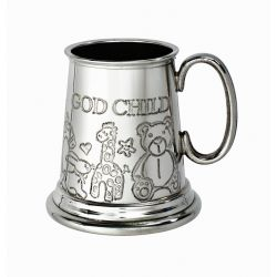 God Child Pewter Mug