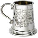 Humpty Dumpty Pewter Mug