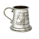 Jack and Jill Pewter Mug