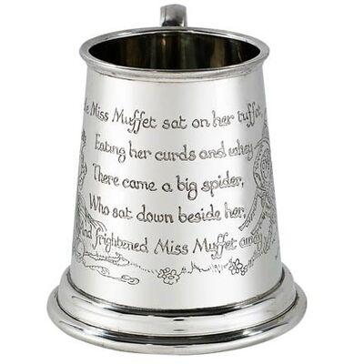 Little Miss Muffet Baby Mug