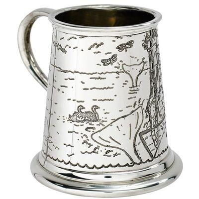 Noah's Arc Pewter Mug