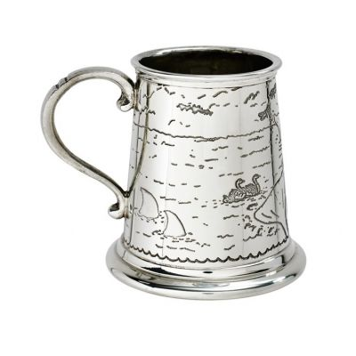 Noah's Arc Pewter Mug