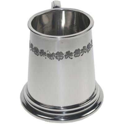 Shamrock Quarter Pint Mug