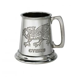 Welsh Dragon Quarter Pint Tankard
