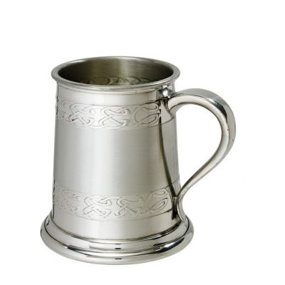 Celtic Band Tankard Half Pint