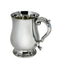 Georgian Pewter Tankard Half Pint