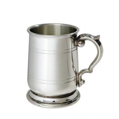 Jacobean Pewter Tankard Half Pint