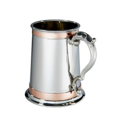 Double Copper Band Monarch Tankard