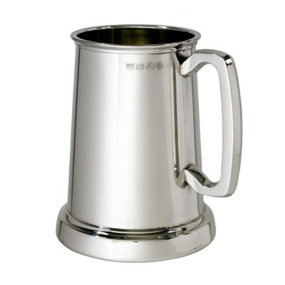 Kings Shilling Tankard with Glass Base