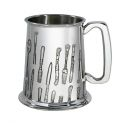 Knife Fork Spoon Pewter Tankard