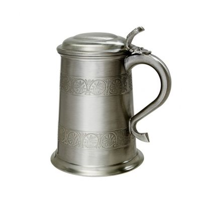 Medieval Pewter Tankard