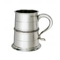 Single Celtic Band Pewter Tankard