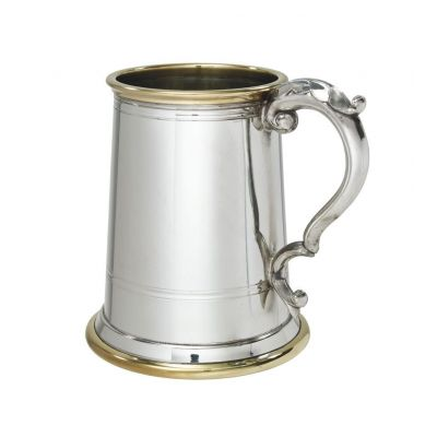 Wortley Pewter and Brass Tankard