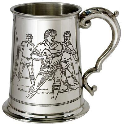 Rugby Scene Tankard
