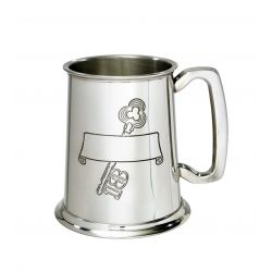 18 key Stamp Tankard