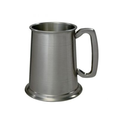 Antique Finish Pewter Tankard