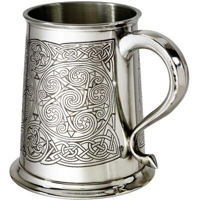 Celtic Spirals Tankard